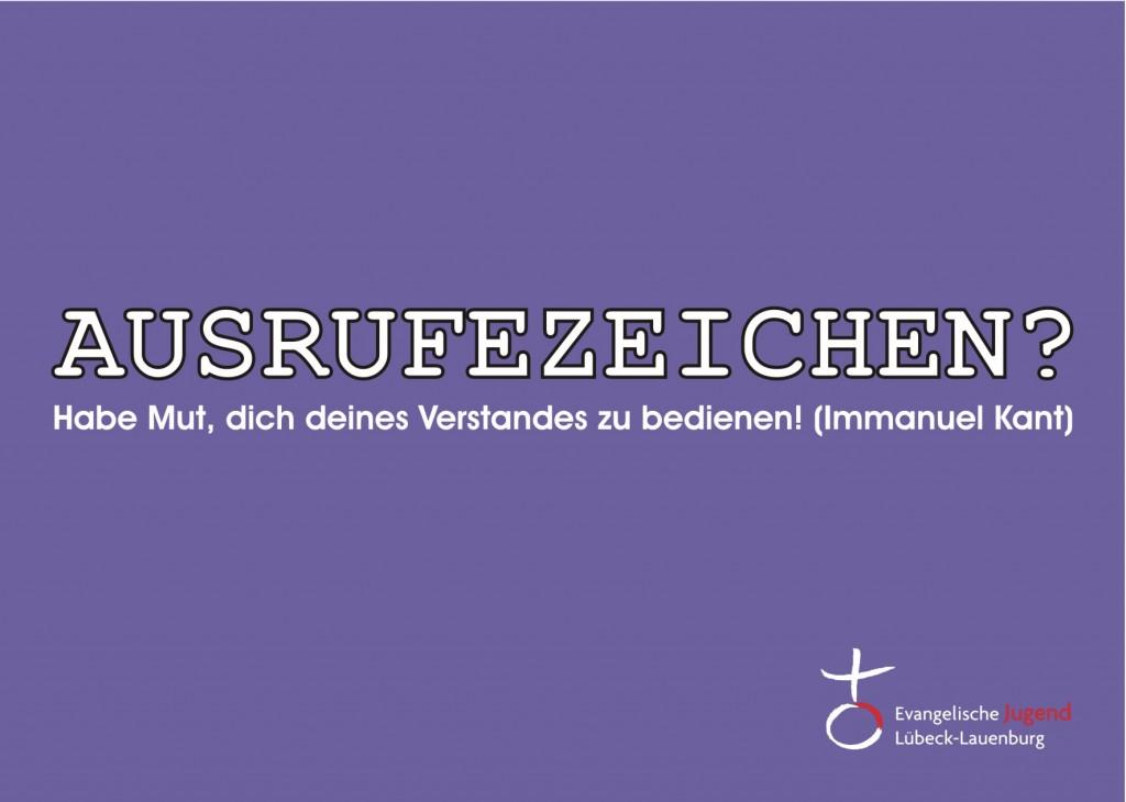 AUSRUFZEICHEN - Dezember Vorderseite